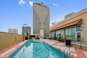 Rooftop Pool New Orleans